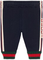 Gucci Baby pant with jacquard trim