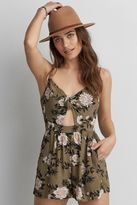 American Eagle Outfitters AE Knot Romper
