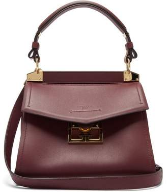 Givenchy Mystic Small Leather Shoulder Bag - Womens - Burgundy