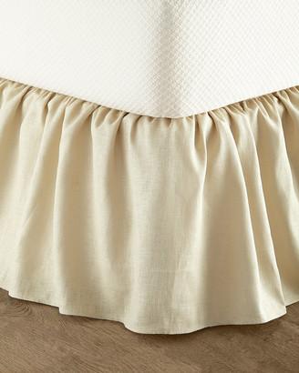 Sherry Kline Home Queen Monterey Solid-Color Dust Skirt