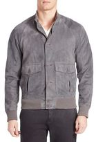 Tomas Maier Sporty Suede Jacket