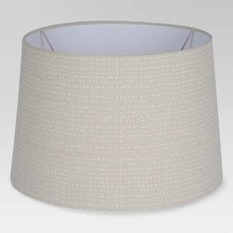 Threshold Printed Drum Large Lamp Shade Tan - ThresholdTM