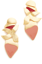 Lizzie Fortunato Orchid Earrings