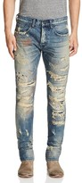 PRPS Goods & Co. Distressed Slim Fit Jeans in Indigo