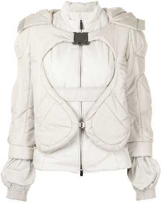 Céline Pre-Owned Pre-Owned Layered Puffer Jacket