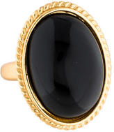Kenneth Jay Lane Resin Oval Cocktail Ring
