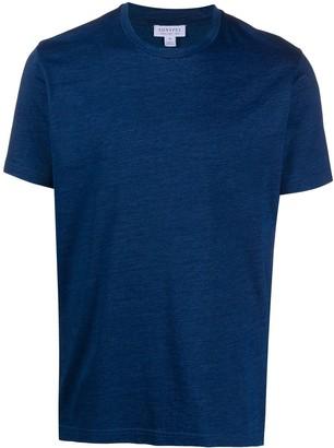 Sunspel plain basic T-shirt
