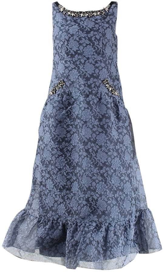 Erdem Blue Lace Dress for Women