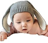 JointlyCreating Winter Crochet Knit Bunny Rabbit Ear Warm Hat for baby boys baby girls