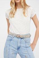 Free People Evie Embellished Belt