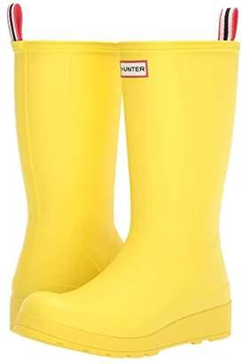 Hunter Play Tall (Black) Women's Rain Boots