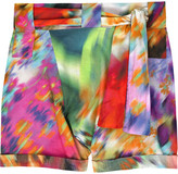 Rosa Chá Printed cotton shorts