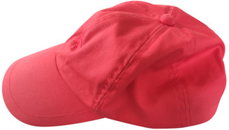 Burberry Red Cotton Hats & pull on hats