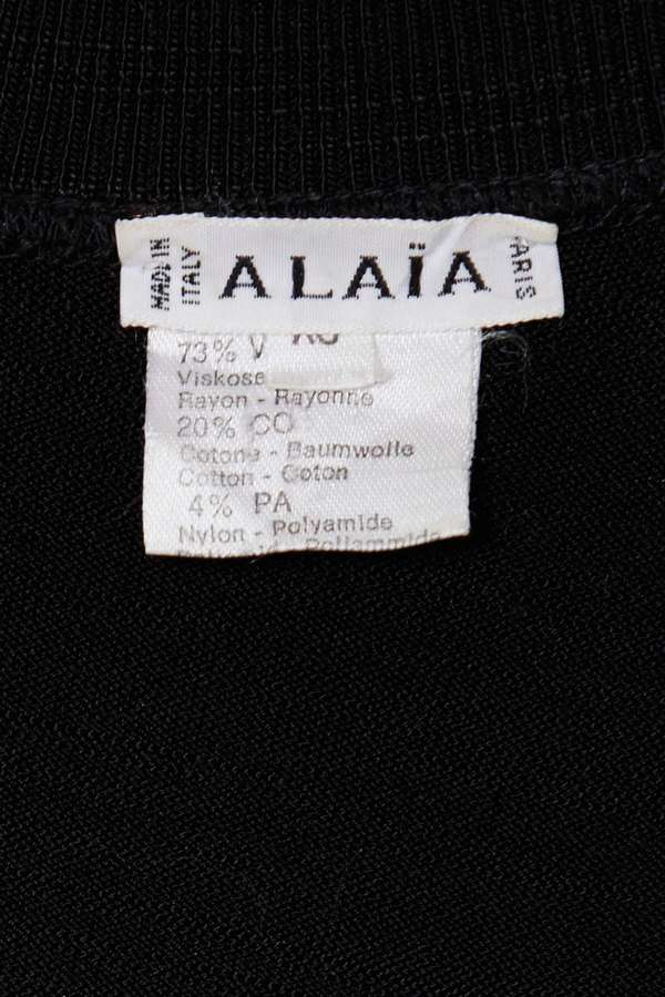 Factory Vintage Alaïa Runaway Dress