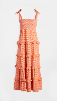 One By Cecilie Copenhagen Long Tiered Dress