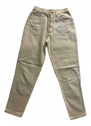 Moschino Beige Denim - Jeans Trousers
