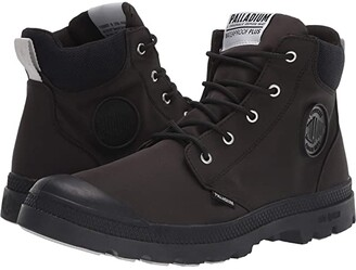 Palladium Pampa Lite Cuff WP (Black/Black) Shoes