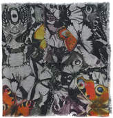 Faliero Sarti butterfly print scarf