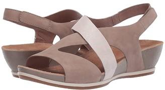 Dansko Vicky (Taupe Milled Nubuck) Women's Sandals