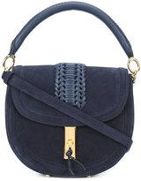 Altuzarra woven detail shoulder bag - women - Calf Leather - One Size
