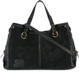 Jerome Dreyfuss Emile tote - women - Cotton/Calf Leather/Calf Suede - One Size