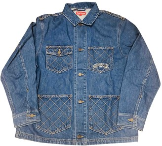 Supreme Blue Denim - Jeans Jackets