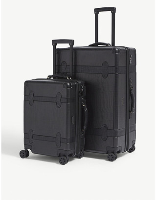 CalPak Trnk four-wheel suitcases set of two