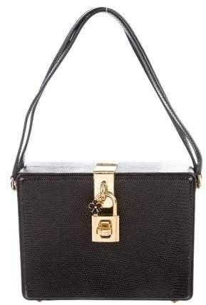 Dolce & Gabbana Embossed Box Bag