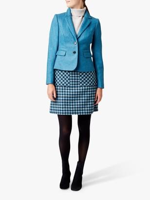 Hobbs Hackness Wool Jacket, Kingfisher Blue