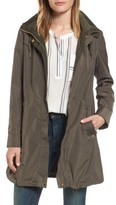 Via Spiga Women's Hooded Packable Utility Coat