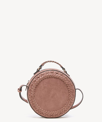 Sole Society Women's Anora Crossbody Vegan Bag Leather Mauve Vegan Leather From
