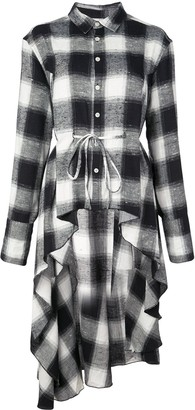 Haculla Signature woven checked shirt dress