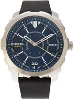 Diesel DZ1787 Silver-Tone & Blue Watch