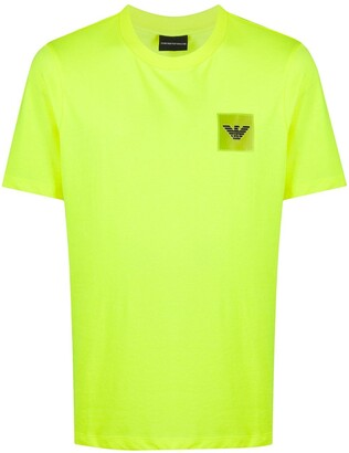 Emporio Armani logo patch regular-fit T-shirt