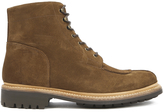 Grenson Men's Grover Suede Lace Up Boots Snuff