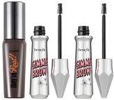 """Benefit Cosmetics Double Gimme Brow with """"They're Real!"""" Mascara Mini - Deep"""
