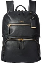 Tumi Voyageur Leather Halle Backpack Backpack Bags