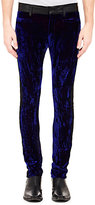 Haider Ackermann Men's Varukers Skinny Trousers-BLACK, NAVY, PURPLE