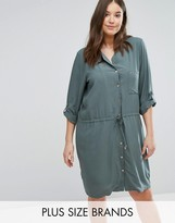 Junarose Utility Shirt Dress