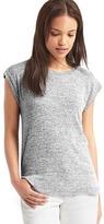 Gap Softspun knit cap sleeve tee