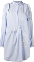 3.1 Phillip Lim cold shoulder shirt - women - Cotton/Silk - 2