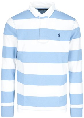 Polo Ralph Lauren Striped Long-Sleeve Polo Shirt