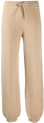Chloé Tapered Knitted Track Pants