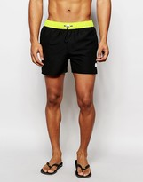 NATIVE YOUTH Swim Shorts With Contrast Waistband
