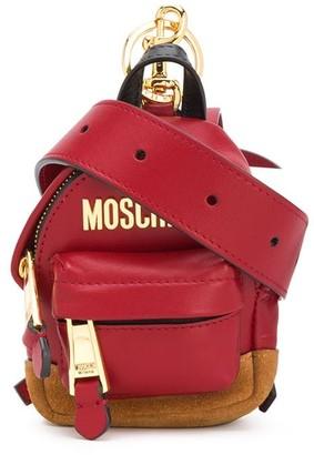 Moschino Mini Backpack-Style Belt Bag