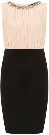 Dorothy Perkins Blush embellished 2in1 dress