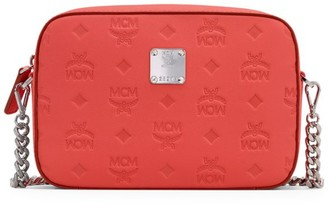 MCM Klara Monogram Leather Camera Bag