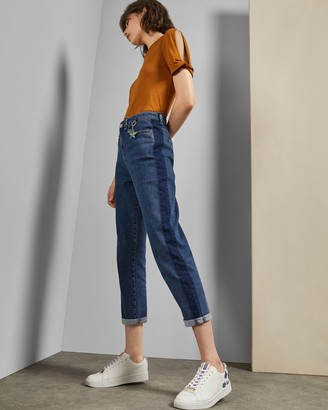 Ted Baker Contrast Leg Jeans