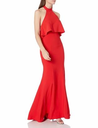 Xscape Evenings Women's Long Open Back Dress