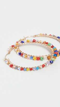 Beck Jewels Large Tutti Frutti Parker Hoops